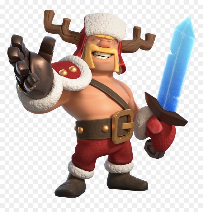 Clash Of Clans Barbarian King Skins Hd Png Download Vhv