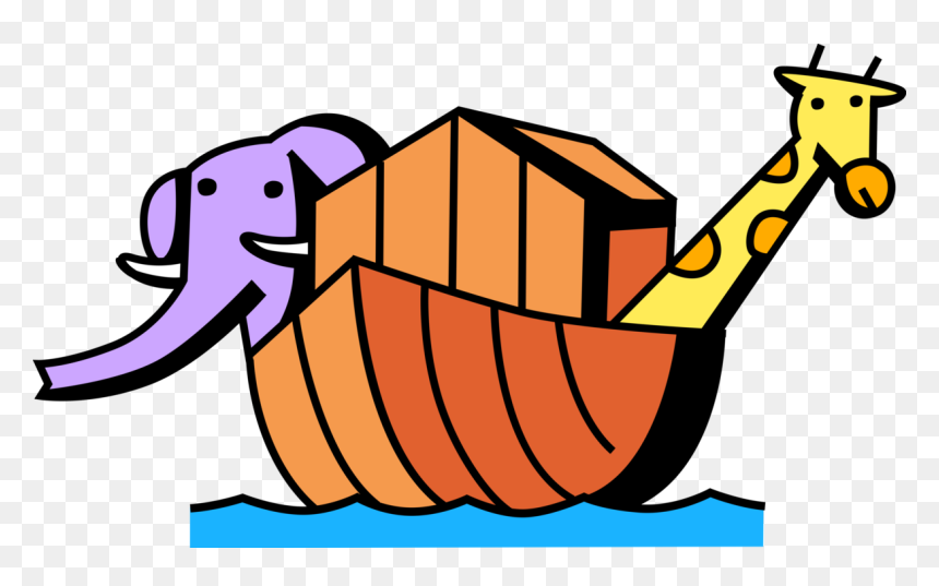 Noah's Ark Royalty Free Vector Clip Art Illustration - Arche Noah Clipart  Transparent PNG - 480x442 - Free Download on NicePNG