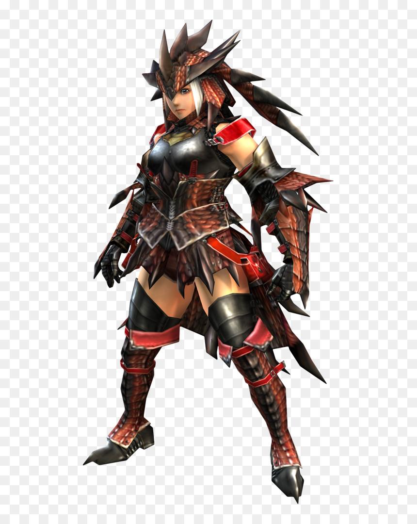 Monster Hunter Rathalos Armor Female Hd Png Download Vhv