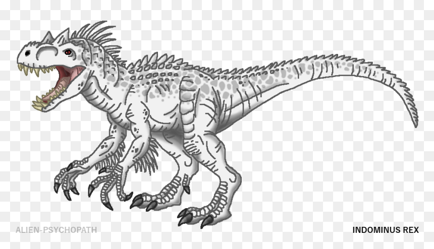 jurassic world indominus rex coloring pages png download jurassic world dinosaurs drawings transparent png vhv jurassic world indominus rex coloring