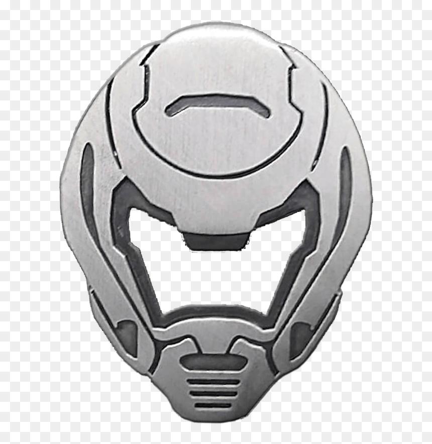 Doom Slayer Helmet Transparent Hd Png Download Vhv