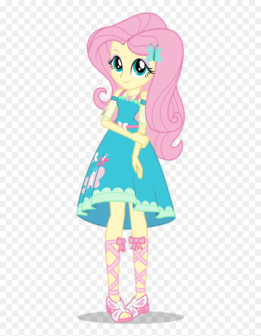 My Little Pony Equestria Girl Fluttershy Hd Png Download Vhv