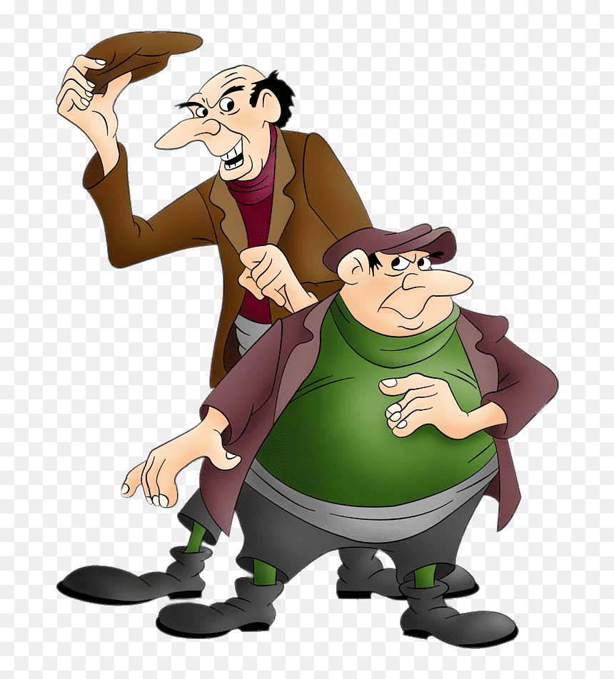101 Dalmatians Jasper And Horace 101 Dalmatians Cartoon Characters Hd Png Download Vhv