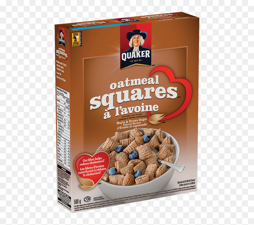 Quaker® Oatmeal Squares™ Maple & Brown