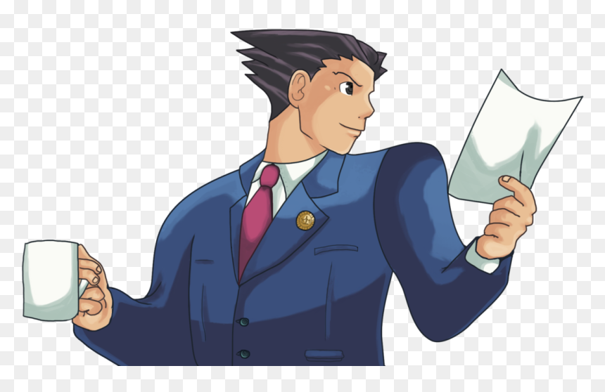 Phoenix Wright Ace Attorney Png Transparent Png Vhv