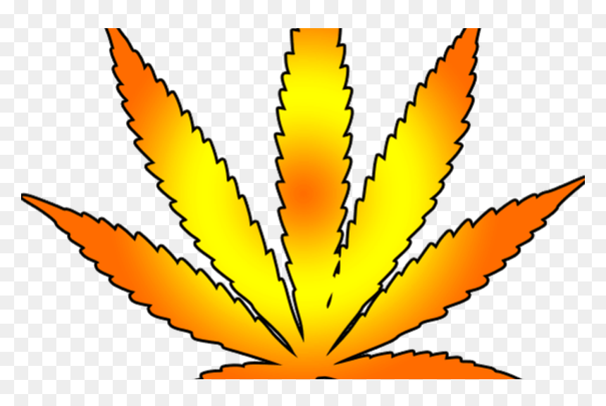 Cannabis Leaf Free Images At Clkercom Vector Clip Art Vector Weed Leaf Png Transparent Png Vhv