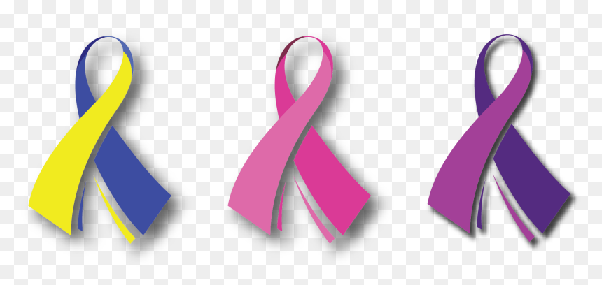 Breast Cancer Ribbon Png Down Syndrome Vector Free Transparent