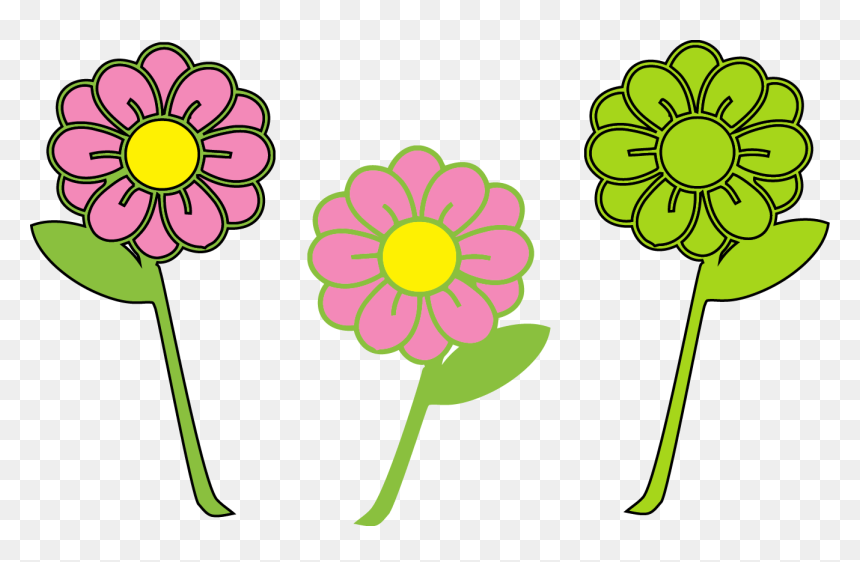 Green Plants And Flowers Free Clipart, Fresh Flowers, Grass, Green Trees  PNG Transparent Clipart Image and PSD File for Free Download
