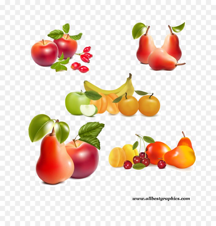 Transparent Healthy Food Clipart Png Fruit Vector Png Download Vhv