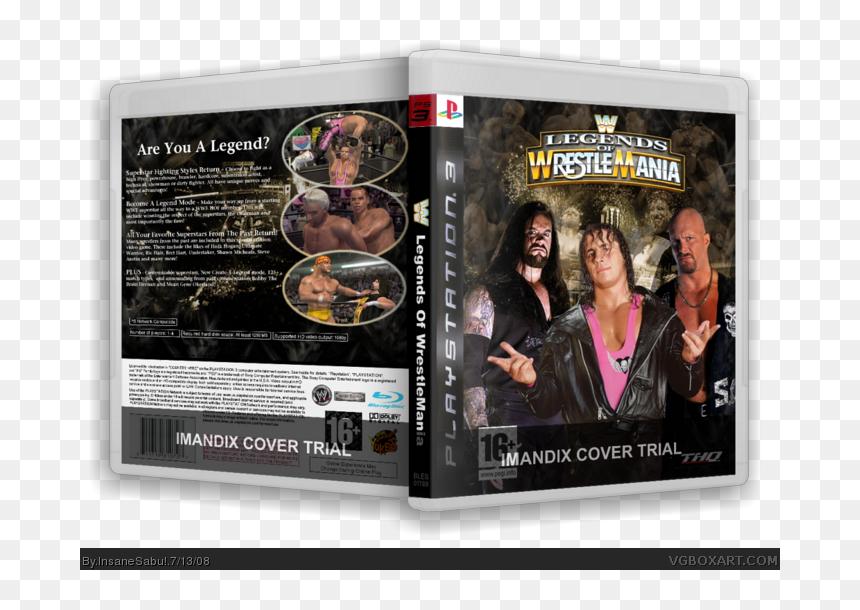 Wwe Legends Of Wrestlemania Ps3 Hd Png Download Vhv