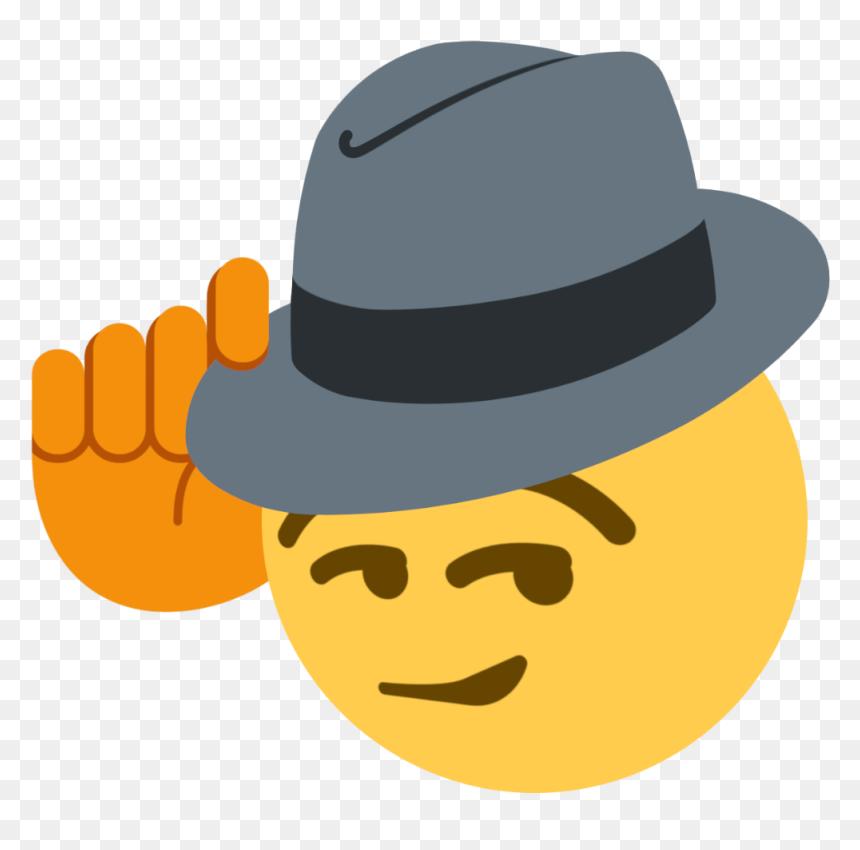 Tips Fedora Cowboy Tipping Hat Emoji Hd Png Download Vhv Emoji information cowboy hat face. tips fedora cowboy tipping hat emoji