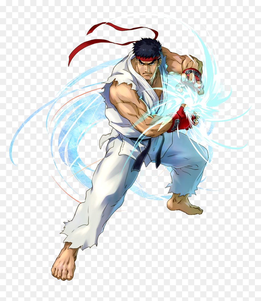 Hadouken Ryu Street Fighter Hd Png Download Vhv