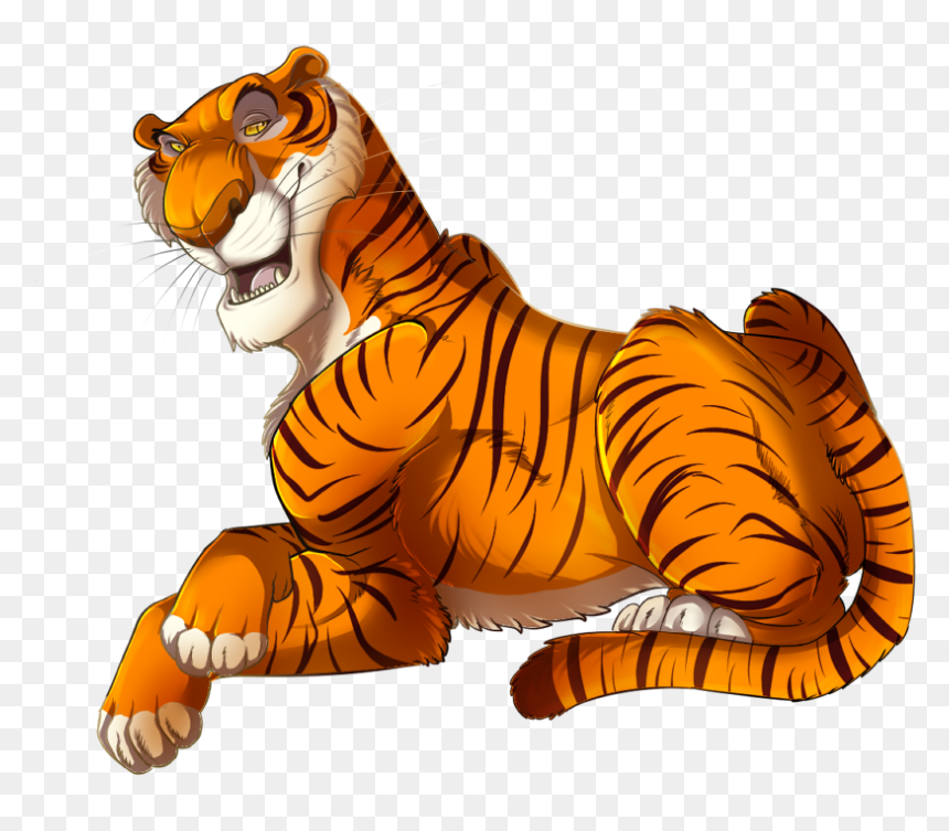 Shere Khan The Jungle Book Bagheera Mowgli Kaa Jungle Book Cartoon Carrector Hd Png Download Vhv