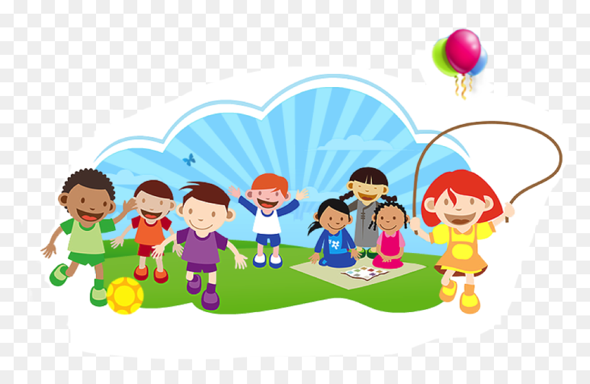 Transparent School Clip Art Png Kids Playing At School Clipart Png Download Vhv