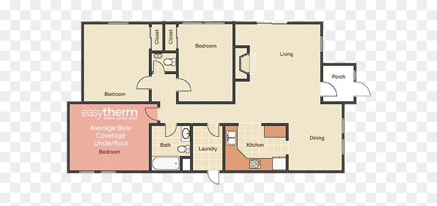 House Plan 3 Bedroom With Garage Hd Png Download Vhv