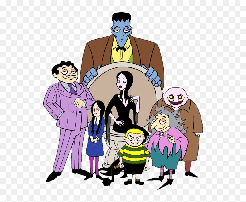 The Addams Family Png Transparent Image Addams Family Animated Movie 2019 Png Download Vhv