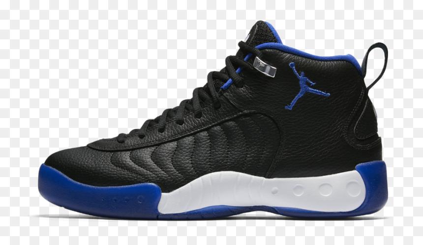 jordan jumpman pro black and blue