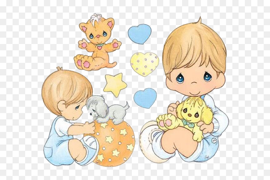 Dodgers Drawing Precious Moment Precious Moments Dolls Baby Boy Hd Png Download Vhv