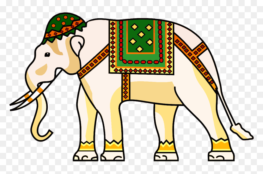 Decorated Elephants Hd Png Download Vhv You can download free elephant png images with transparent backgrounds from the largest collection on pngtree. decorated elephants hd png download vhv