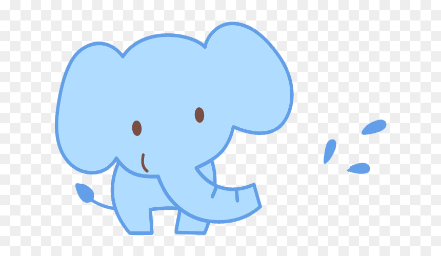 Draw A Cute Cartoon Baby Elephant Hd Png Download Vhv Cyclotis), and the asian elephant (elephas maximus). draw a cute cartoon baby elephant hd