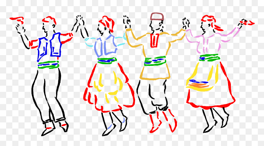 Flamenco Dancers Silhouette Png Transparent Clip Art Turkish Folk Dance Clipart Png Download Vhv