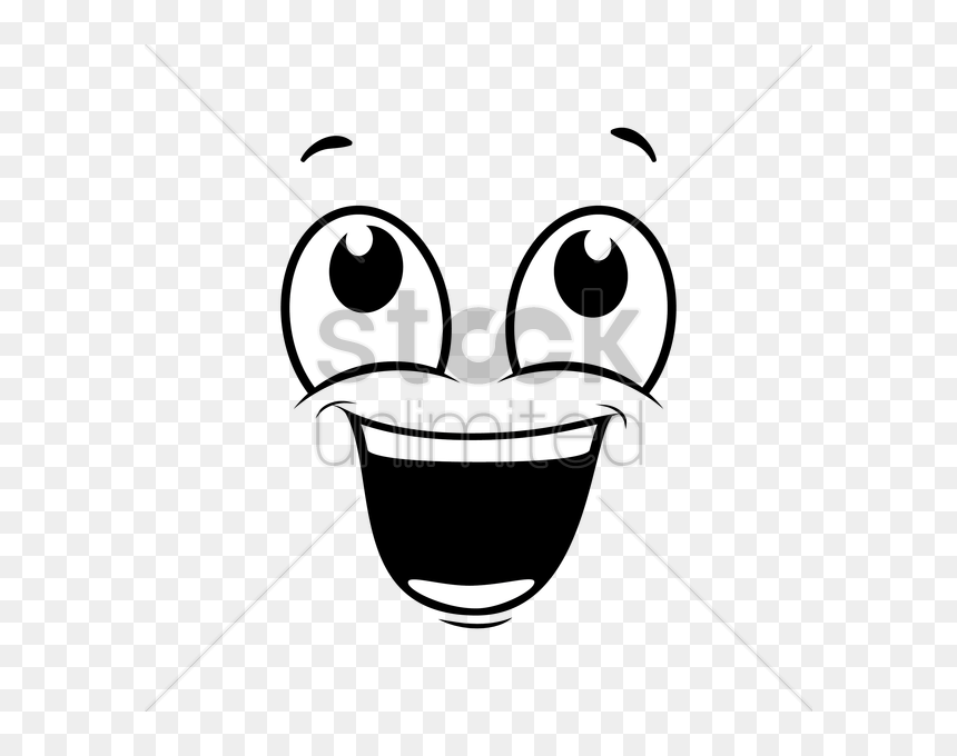 Cartoon Eyes And Smile Hd Png Download Vhv