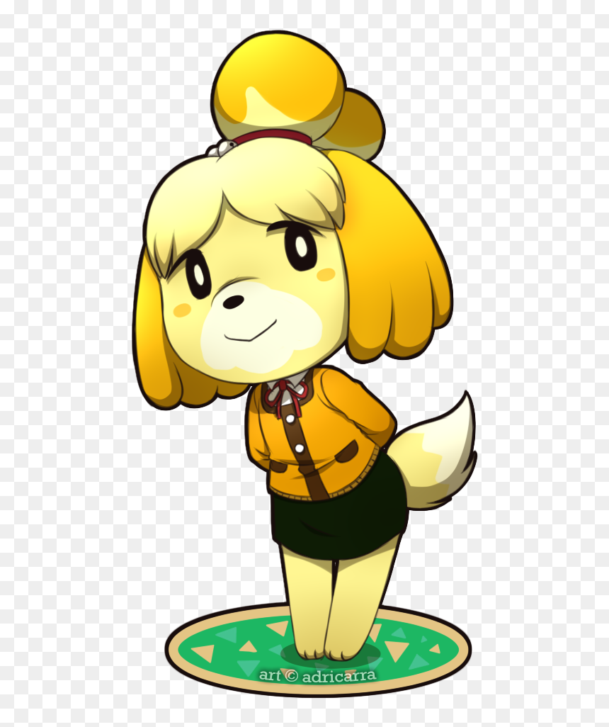 Learn How To Draw Fauna From Animal Crossing Animal Cute Isabelle Animal Crossing Hd Png Download Vhv