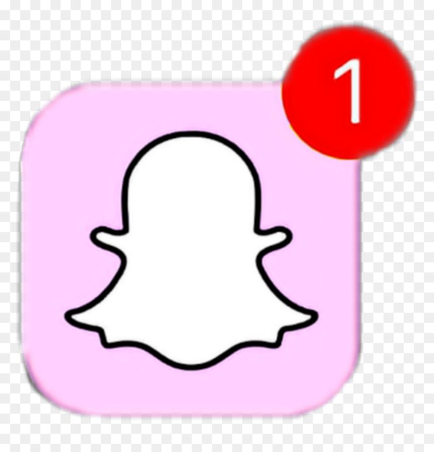Tumblr Snapchat Pastel Aesthetic Kawaii Cute Pink Snapchat Logo White Transparent Hd Png Download Vhv