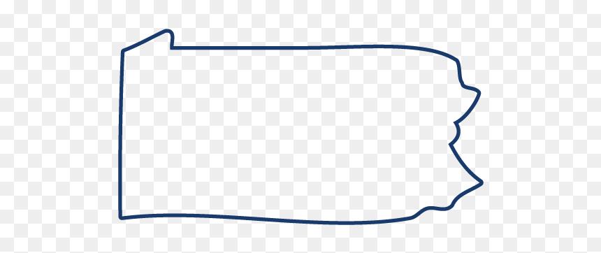 Pennsylvania Outline Png Line Art Transparent Png Vhv