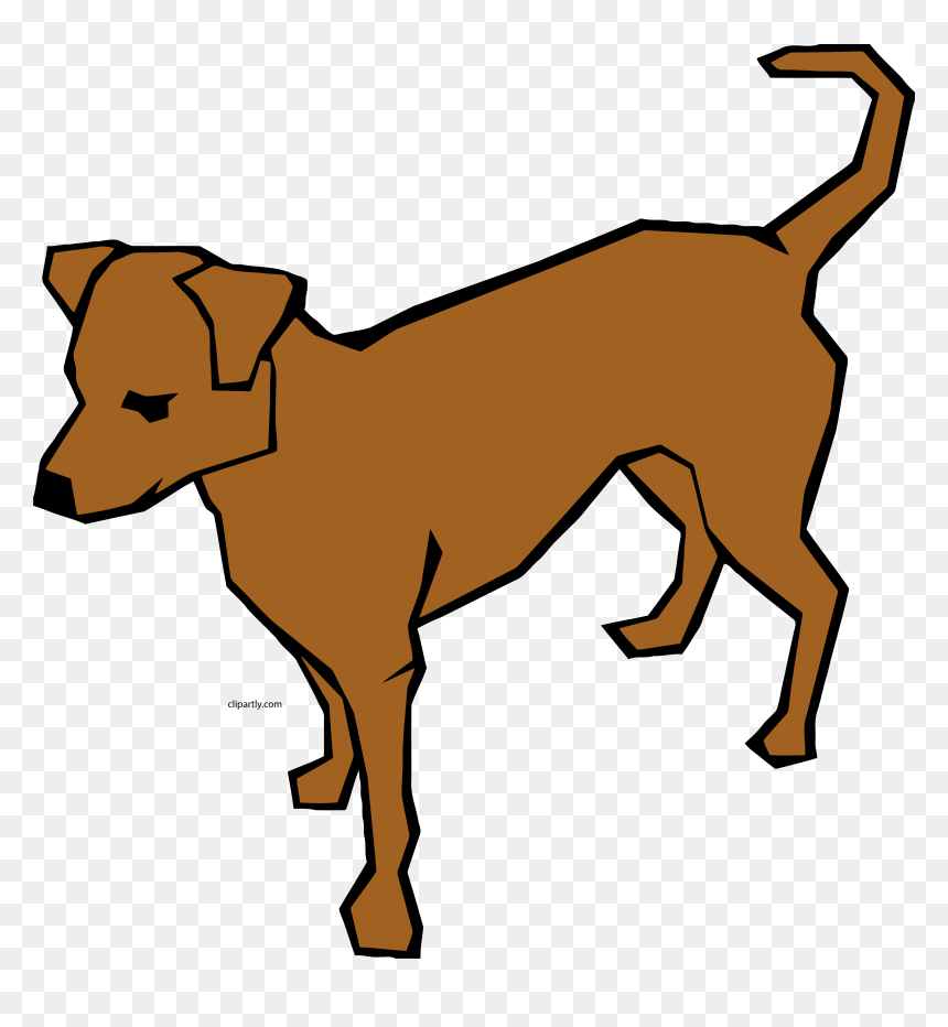 Burlywood Color Dog Clipart - Sitting Dog Clip Art, HD Png ... | 932x860