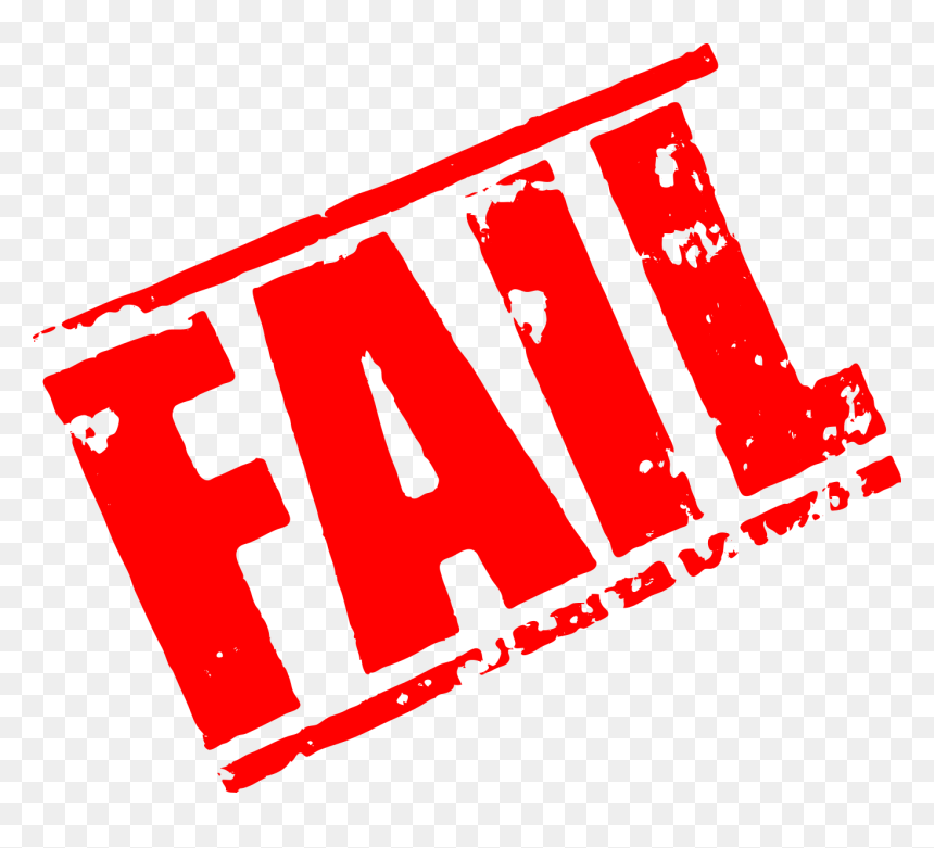 Fail Stamp 1 Hd Png Download Vhv