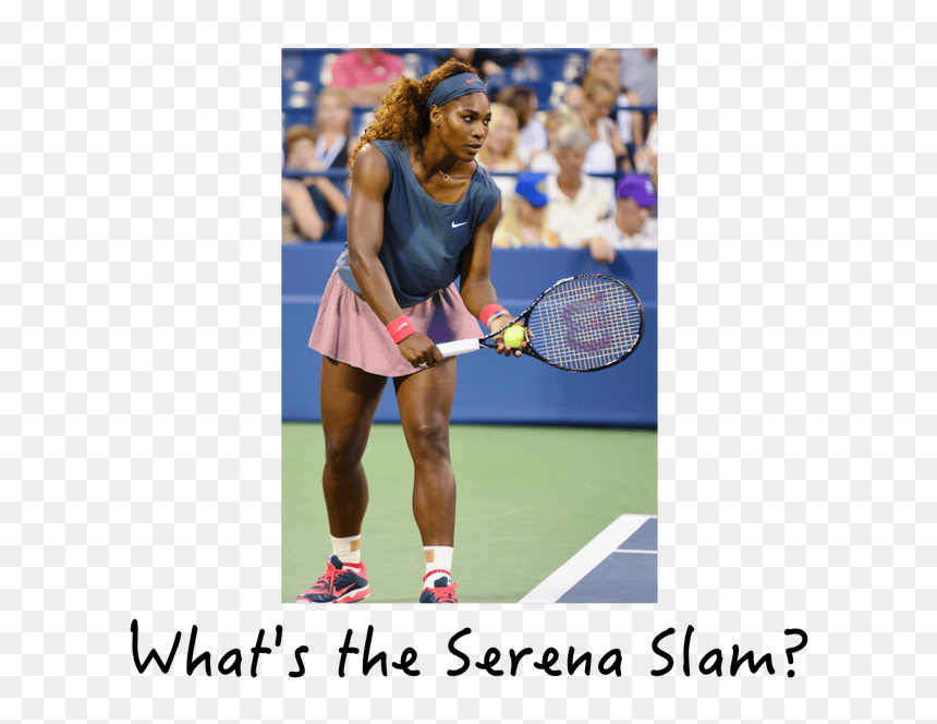 Picture Serena Williams Playing Tennis Pregnant Hd Png Download Vhv