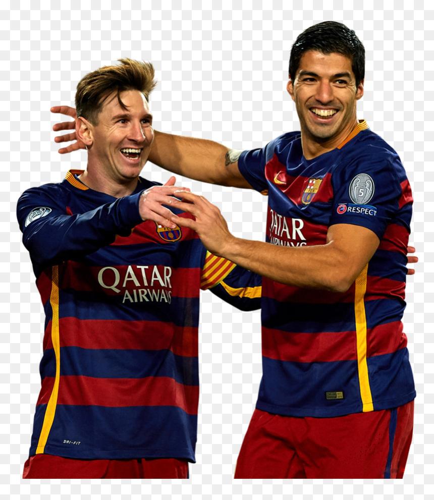 Messi Y Suarez Png Transparent Png Vhv