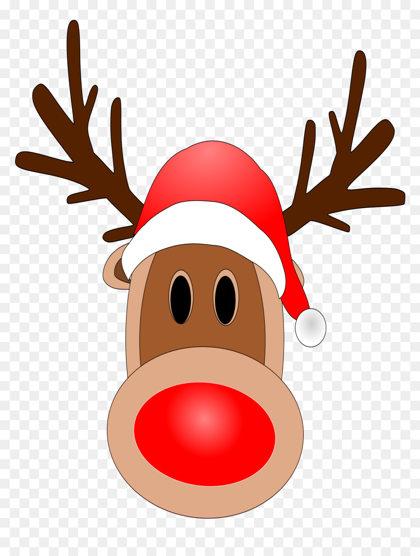 Clipart Reindeer Red Nose Hd Png Download Vhv,Man Cave Home Bar Ideas On A Budget
