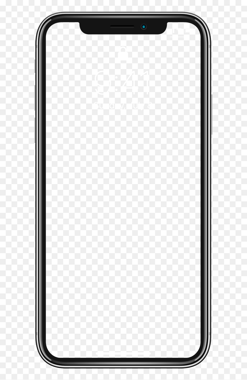 Iphone X Overlay Png Transparent Png Vhv