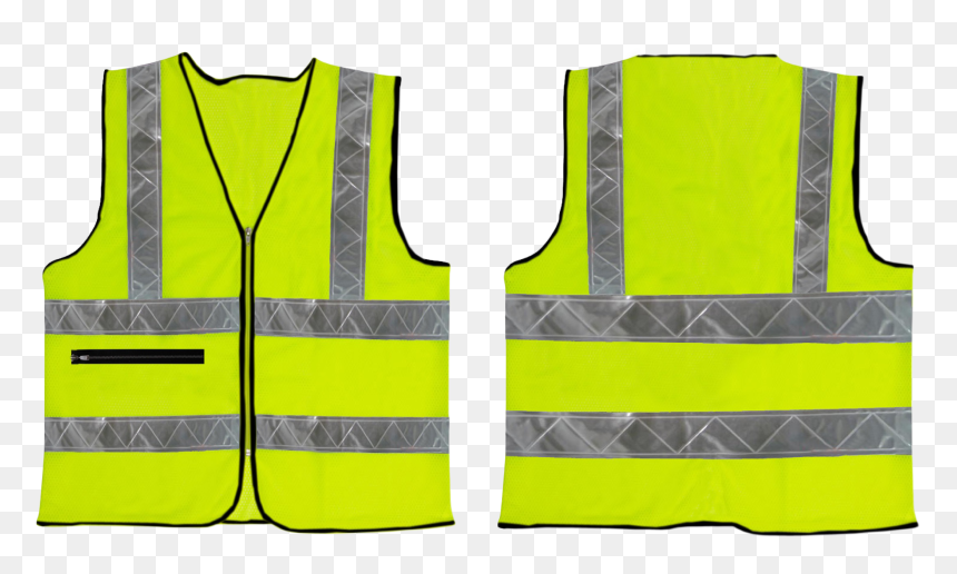 Safety Vest Transparent Background Hd Png Download Vhv