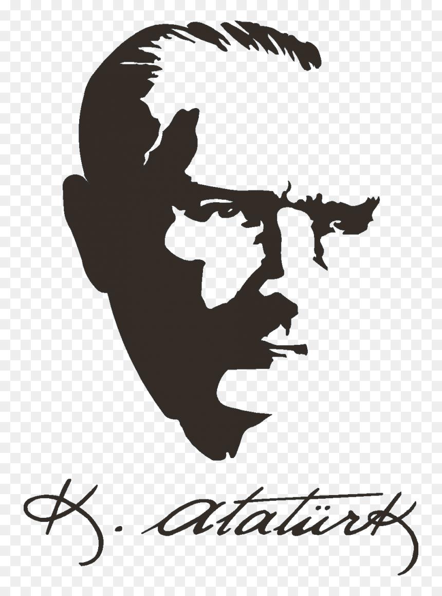 Mustafa Kemal Ataturk Siluetleri Image Ciftlikkoy Ataturk Anadolu Lisesi Hd Png Download Vhv