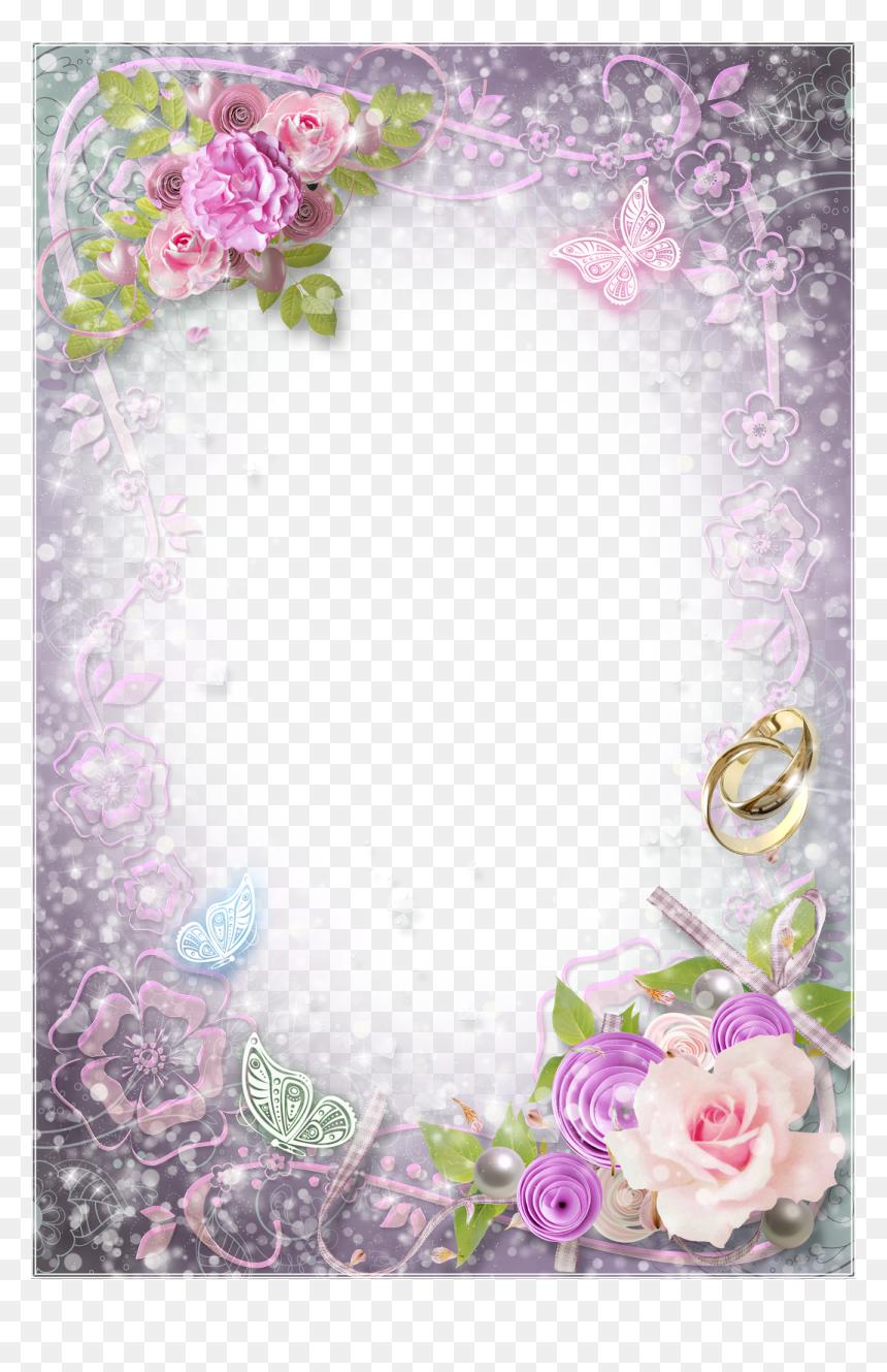 Transparent Wedding Frame Png Png Download Vhv