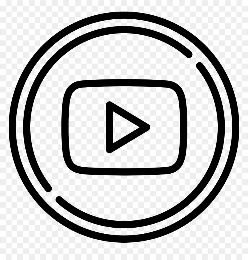 Logo Youtube Putih Png Transparent Png Vhv