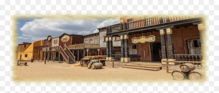Old Far West Town, HD Png Download - vhv