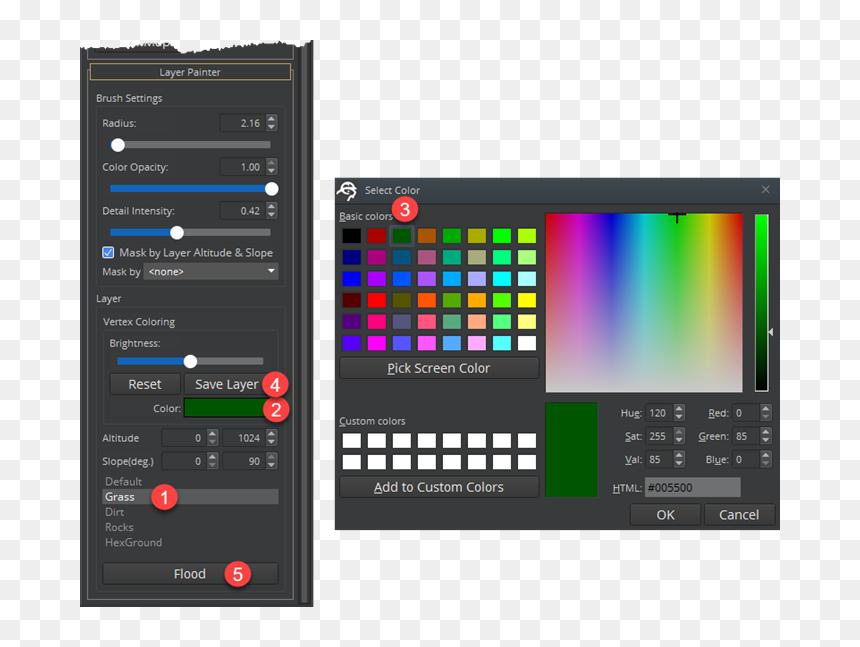 Icon Pastel Green Roblox Logo Color Picker Roblox Hd Png Download Vhv