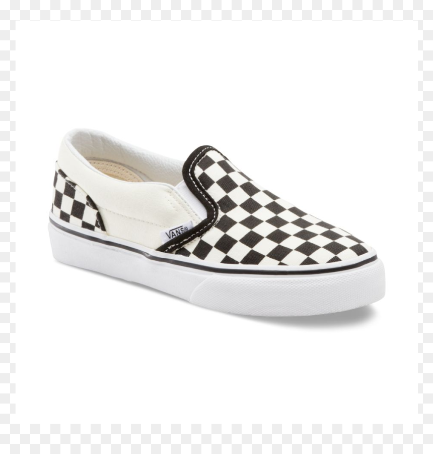 Blue Checkered Vans, HD Png Download