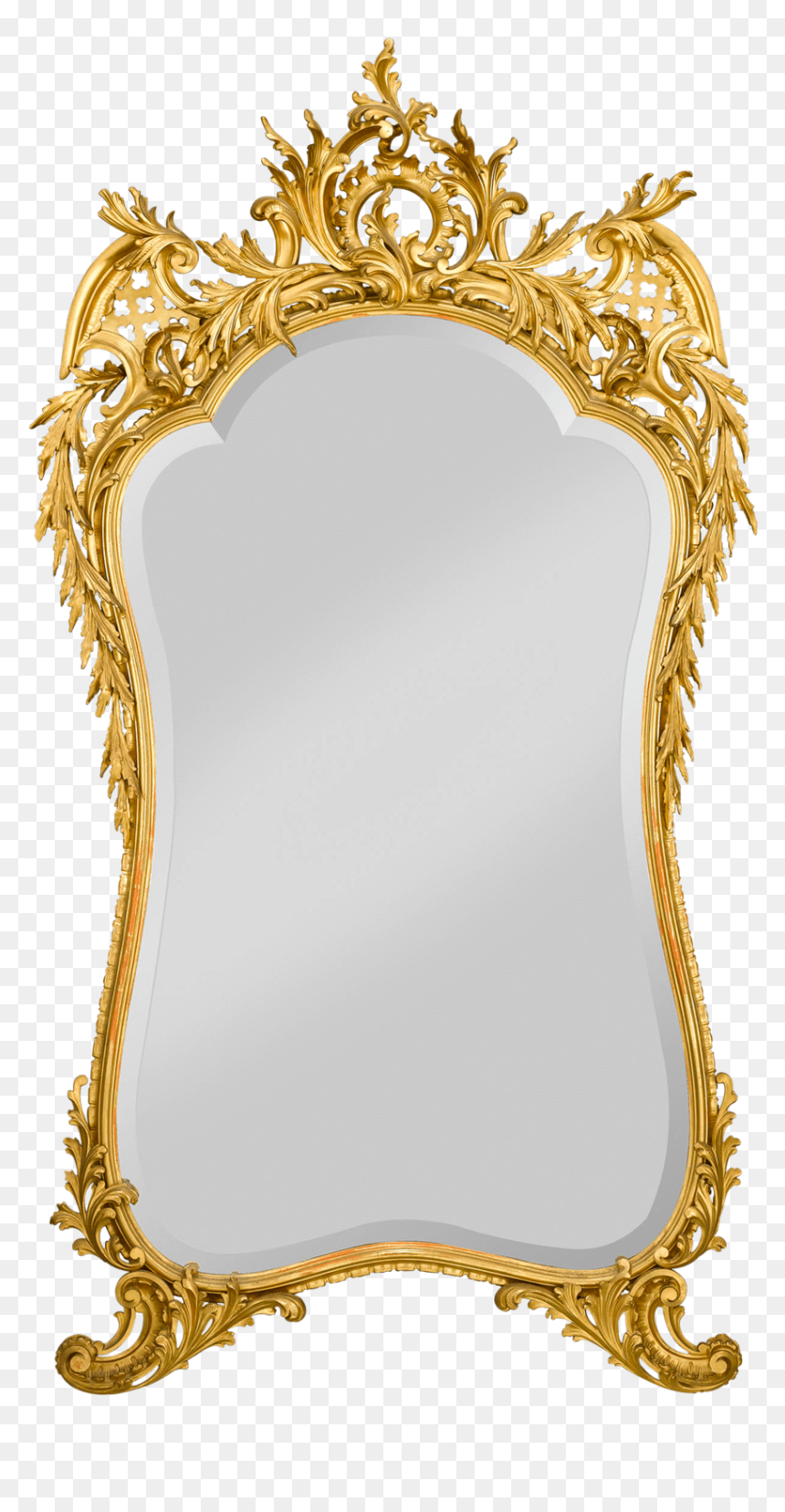 Gold Mirror Frame Png Transparent Png Vhv