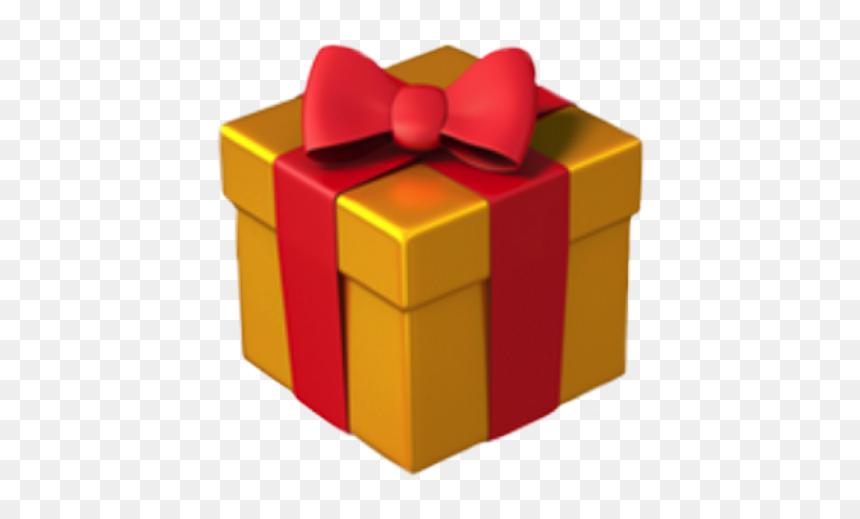 Gift Emoji Png Transparent Png Vhv