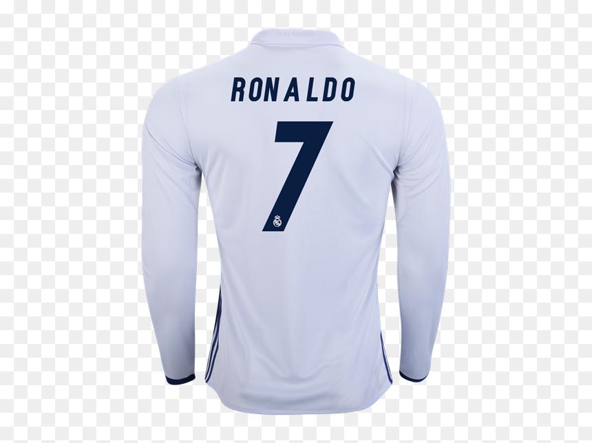 Camisa De Cristiano Ronaldo Manga Larga Hd Png Download Vhv