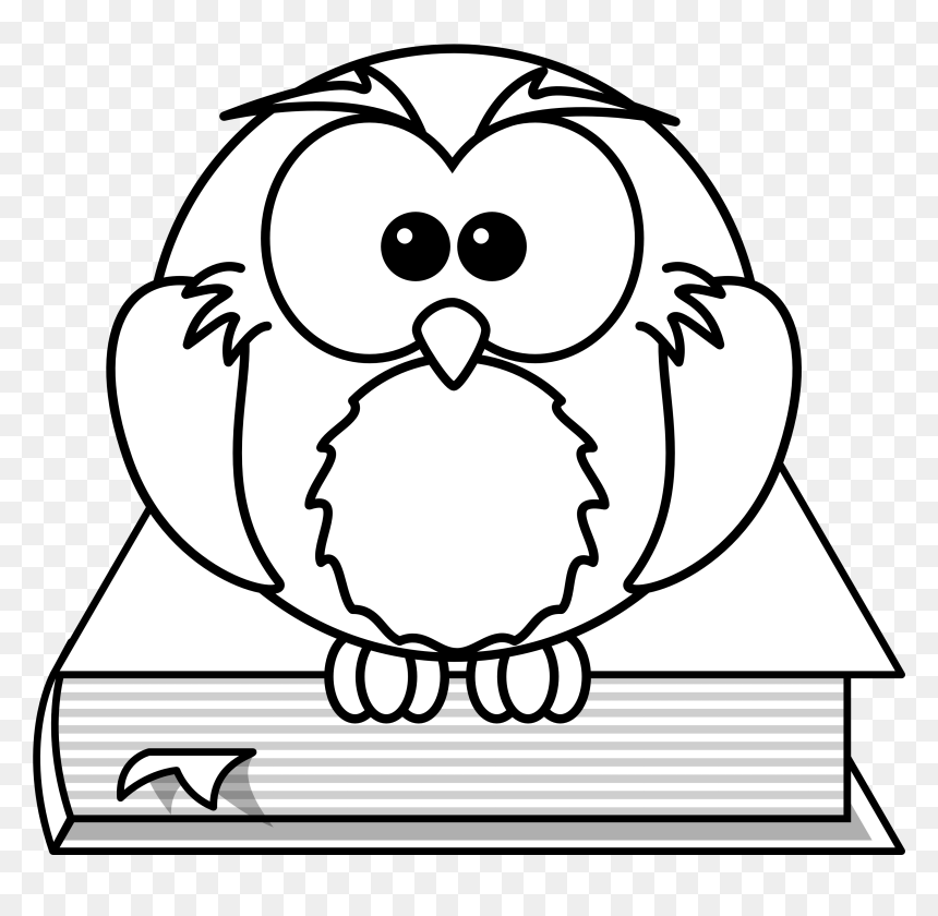 Owl Clipart Black And White Free Hd Png Download Vhv