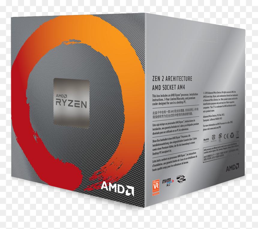 Amd Ryzen 7 3700x Hd Png Download Vhv