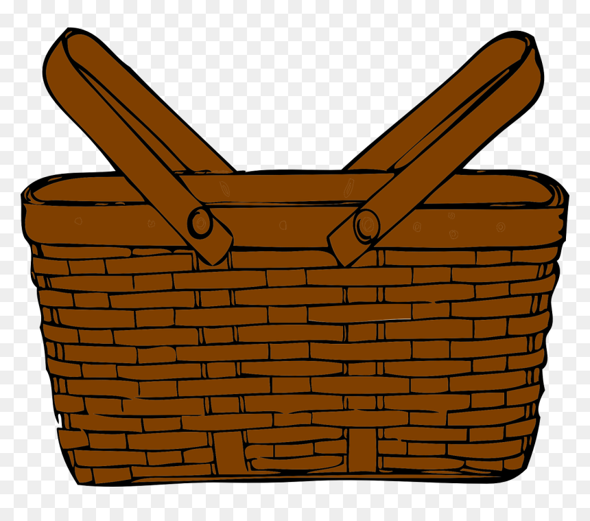 Picnic Basket Clipart Transparent Background Hd Png Download Vhv