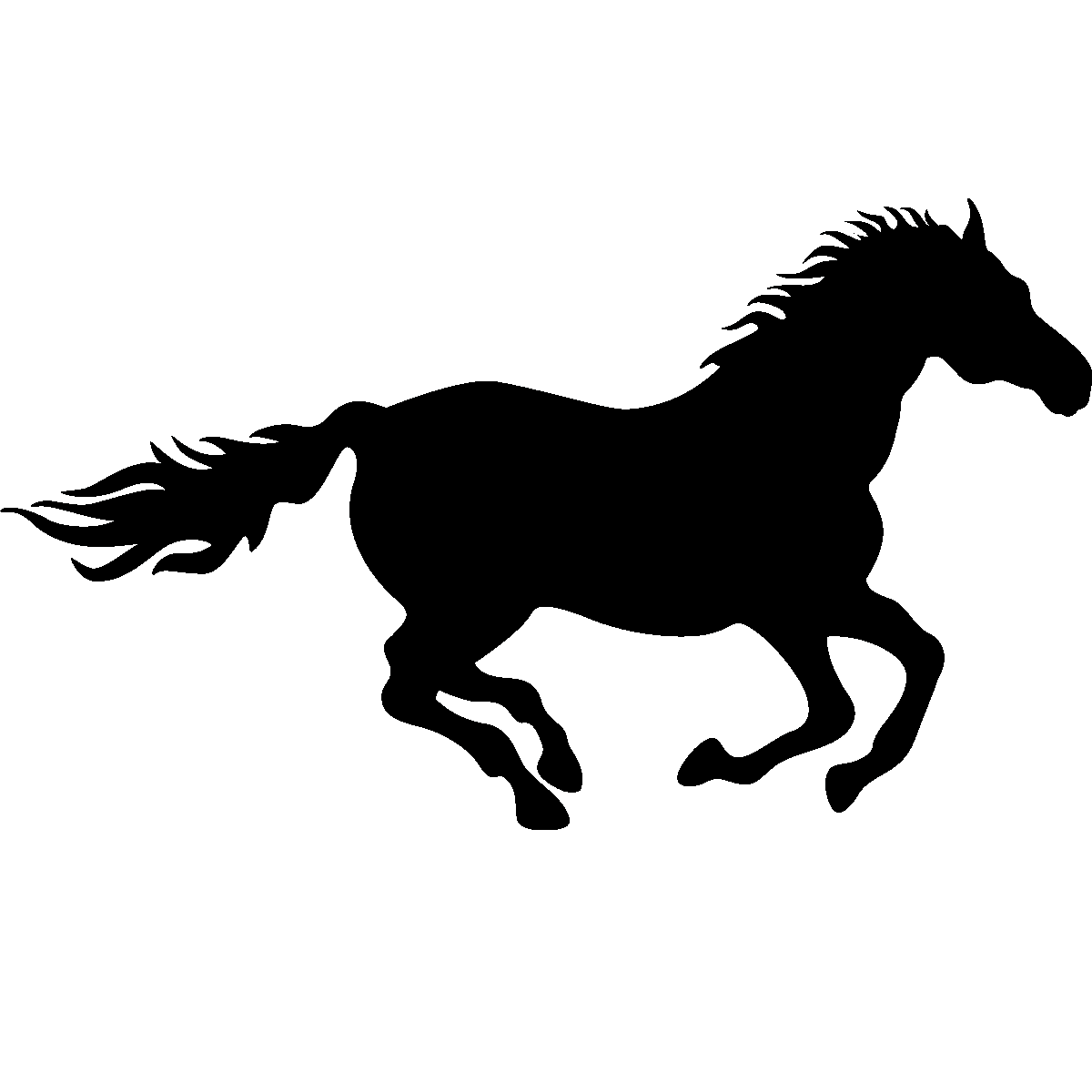 Running Horse Silhouette Png Hd Png Pictures Vhv Rs
